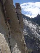 Rock Climbing Photo: A little cottonwood classic!