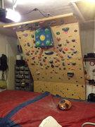 Rock Climbing Photo: My home wall.