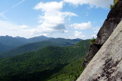 Rock Climbing Photo: View to the climber's left from P1 belay
