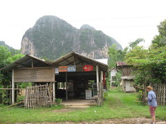Rock Climbing Photo: This is the store and house where you leave the ro...