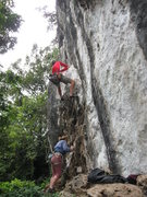 Rock Climbing Photo: Looking left from the Hot Rock Tour 2009 (Hangover...