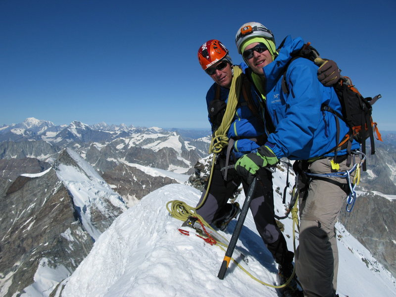 Rock Climbing Photo: Matterhorn summit ALPS 2012.  Copyright
