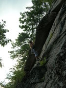 Rock Climbing Photo: Jon Garlough gets ready to fire the roof on Coyote...