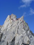 Rock Climbing Photo: Upper Route Beta