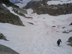Rock Climbing Photo: The added hike from the Kain hut to Applebee