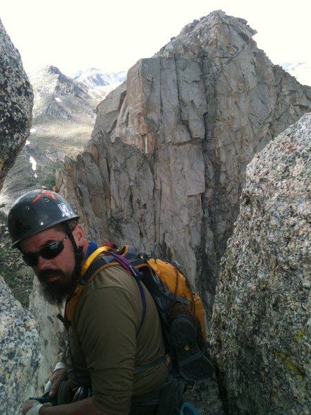 Rock Climbing Photo: Jason ? on Wolf's Head.