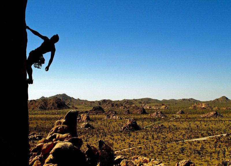 Rock Climbing Photo: thomas, scary poodles