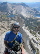 Rock Climbing Photo: On the summit looking south/ southwest back at the...
