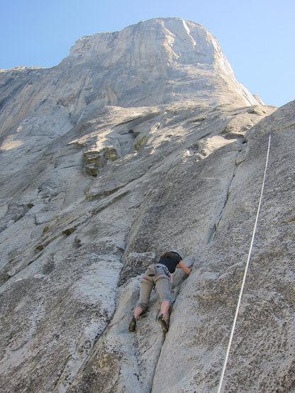 Rock Climbing Photo: CMW on Pine Line.