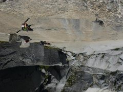Rock Climbing Photo: Grant burling out on the pitch 11 OW