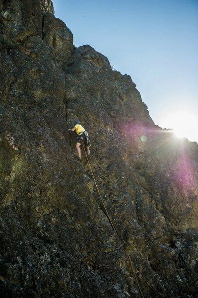 Rock Climbing Photo: Credit Scott Fong for this Hero shot.