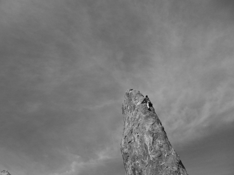 Michael on Pirates on Horseback  @ Shark's Fin. <br> Alabama Hills - Lone Pine, Ca