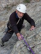 Rock Climbing Photo: 81 year young Tom Hornbein getting it done on Roya...