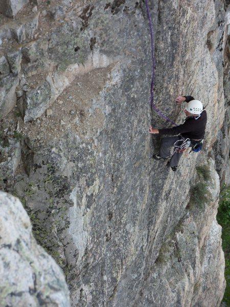 Rock Climbing Photo: Tom Hornbein again.