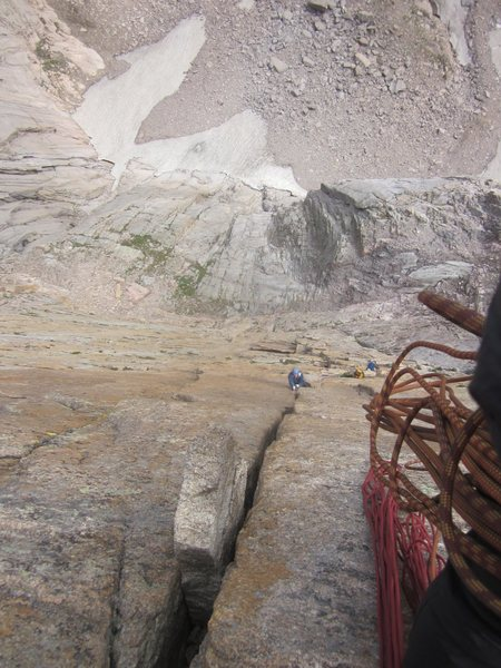 Rock Climbing Photo: lower down