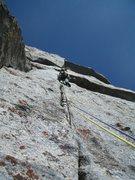 Rock Climbing Photo: evan h on the crux