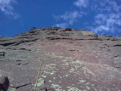 Rock Climbing Photo: flatiron