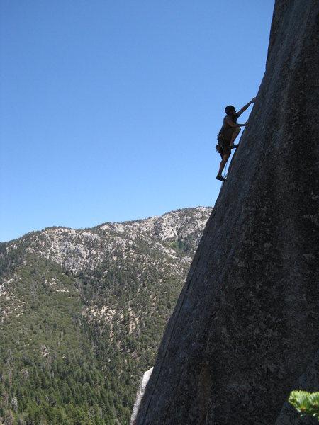 Rock Climbing Photo: Etude.
