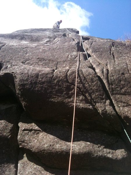 Rock Climbing Photo: Climbed this route earlier this year