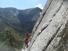 Rock Climbing Photo: Agina Sedler 8-4-12