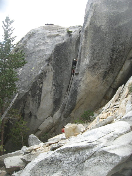 Rock Climbing Photo: Nathan Fitzhugh  8-4-12