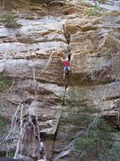 """Rock Climbing Photo: """"Green Elbow"""""""