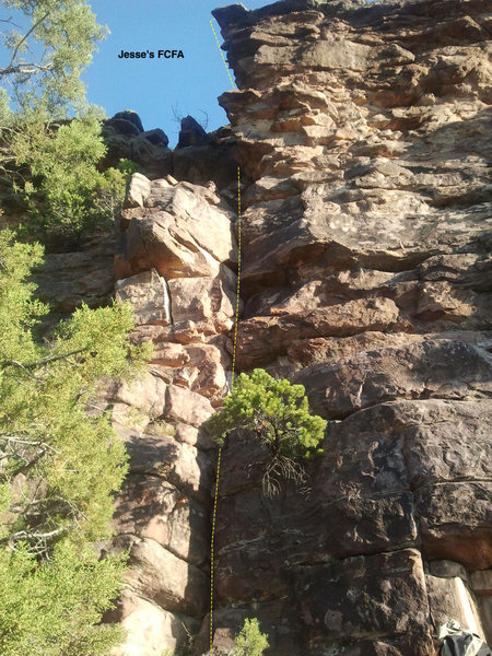 Jesse's FCFA (First Climb, First Ascent)