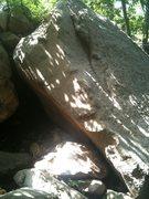 Rock Climbing Photo: Right arete