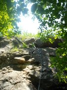 Rock Climbing Photo: The Little Mermaid