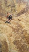 Rock Climbing Photo: Me conquering El Chivo! Joshua Tree National Park.