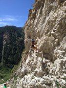 Rock Climbing Photo: big cottonwood near Salt Lake City Utah