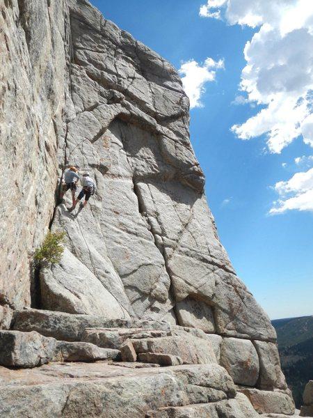 Rock Climbing Photo: Granite Buttress