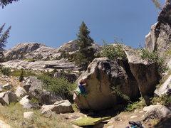 Rock Climbing Photo: Tenaya Lake Boulders  Tuolumne Meadows, CA