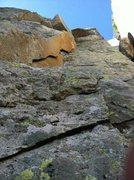 Rock Climbing Photo: Rusty Blade from the belay