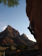 Rock Climbing Photo: Random boulder in Zion