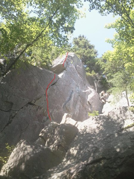 Rock Climbing Photo: Slap-N-Flap 11+