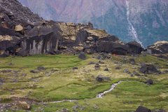 Rock Climbing Photo: camp at fairy meadows