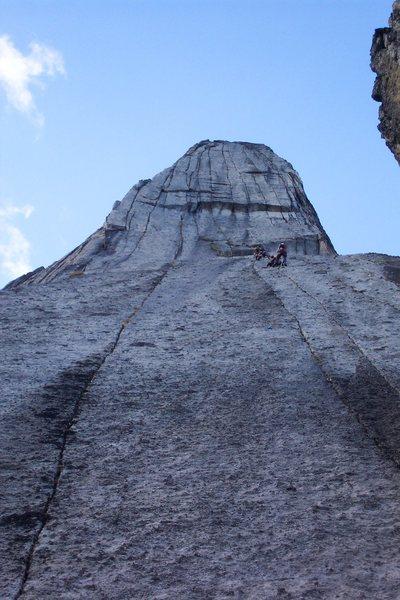 Rock Climbing Photo: The Lotus Head wall.