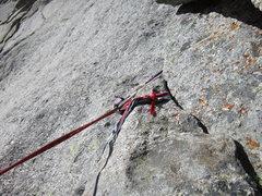 Rock Climbing Photo: Rap anchor 3.