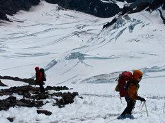 Rock Climbing Photo: Giant glacial zit