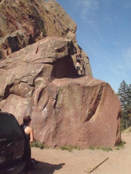 Rock Climbing Photo: bouldering in eldorado canyon