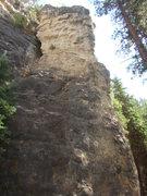 Rock Climbing Photo: Slim Shady Pillar. Home to a HUGE 5.11c