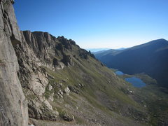 Rock Climbing Photo: The view outwards from The Black Wall in August 20...