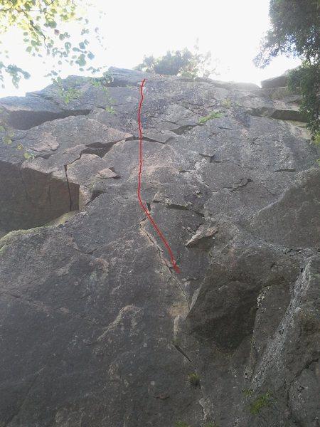 Rock Climbing Photo: Diurnal pegs, 11+