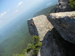 Rock Climbing Photo: Mnt Chocorua Bouldering