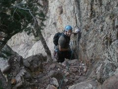Rock Climbing Photo: Eldo, Red ledge