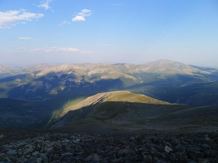 East Ridge descent.