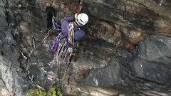 Rock Climbing Photo: John Kelbel on Air Show pitch 1