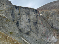 Rock Climbing Photo: Route (photo taken by Matt Swartz).