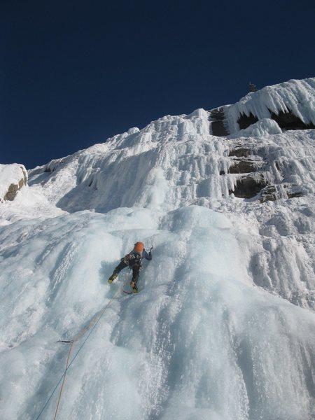 Rock Climbing Photo: Weeping Wall, near Banff
